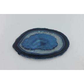 Agate Slices, Blue - Size 4