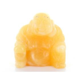 Calcite, Orange Buddha -  5cm