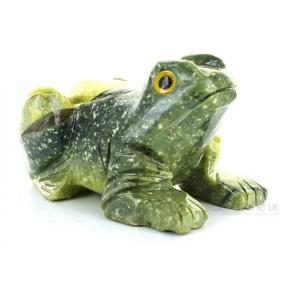 Serpentine, New Jade Frog