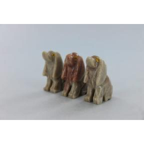 Soapstone Dog (3 Pack)