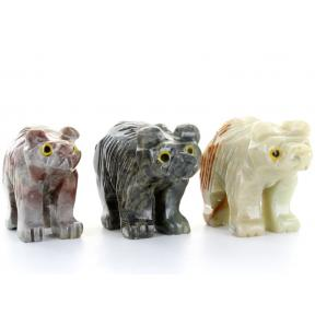 Soapstone Bear (3 Pack)
