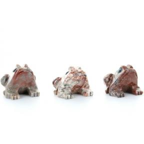Soapstone Frog (3 Pack)
