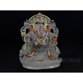 Quartz Painted Ganesh 21
