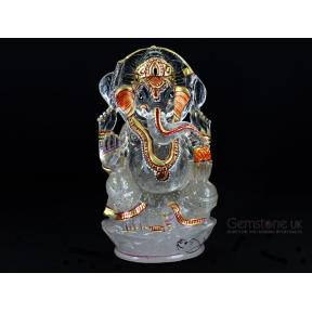 Quartz Painted Ganesh 20