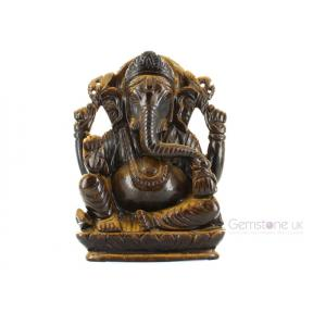 Tiger Eye Ganesh 34