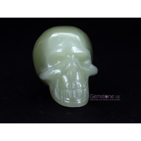 Calcite, Green Skull