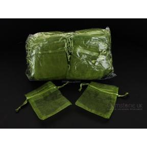 Pouch - Organza Green (100 Pack)