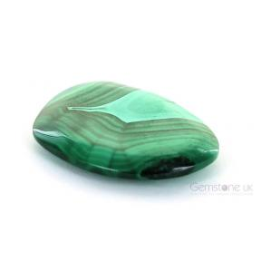 Malachite Flat Stone FreeForm