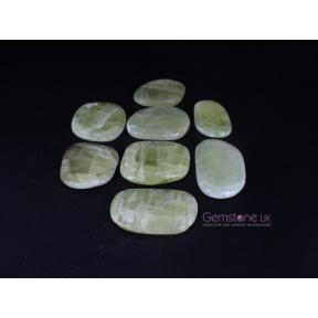 Calcite, Pineapple Flat Stone, Free Form 250g