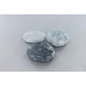 Calcite, Blue Pebble