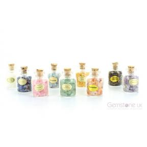 9 Gemstone Bottle Set