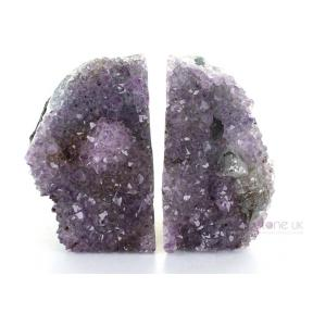 Amethyst Book Ends