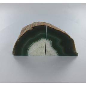 Agate, Green Book Ends