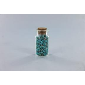 Turquoise Granual in Bottle