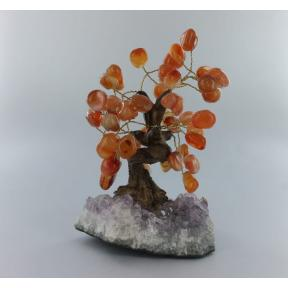 Carnelian Bonsai Tree - Medium