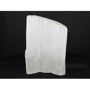 Selenite Freeform Lamp