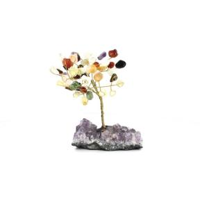 Mixed Crystal Gem Tree - Large