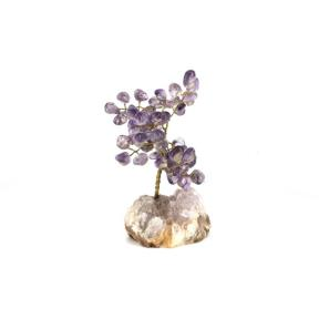 Amethyst Gem Tree - Large
