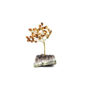 Citrine Gem Tree - Large