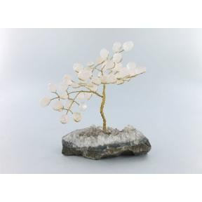 Rose Quartz Gem Tree - Large