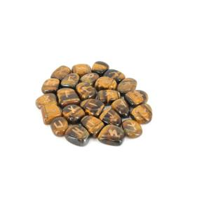 Tiger Eye, Gold Rune Stones