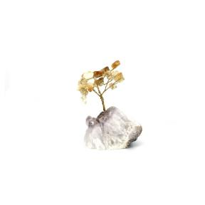 Citrine Gem Tree - Small