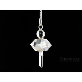 Quartz Double Terminated Pendulum