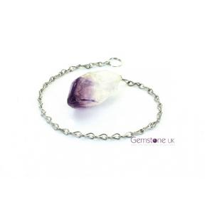 Amethyst Rough Point Pendulum