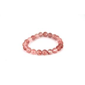 Quartz Cherry Bead 8mm JB