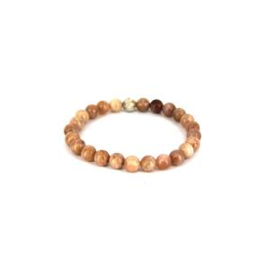 Moonstone 8mm Bead Bracelet