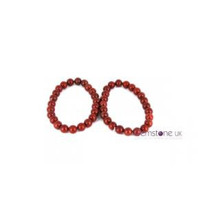 Jasper Red Bead 8mm JB 2PK