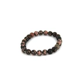 Rhodonite Bead 8mm JB