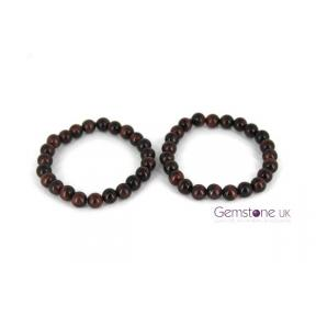 Tiger Eye Red Bead 8mm JB 2PK