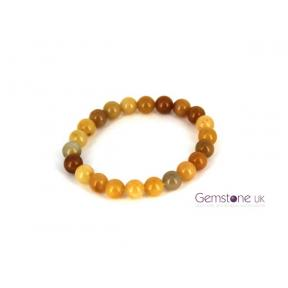 Aventurine Yellow Bead 8mm Bracelet