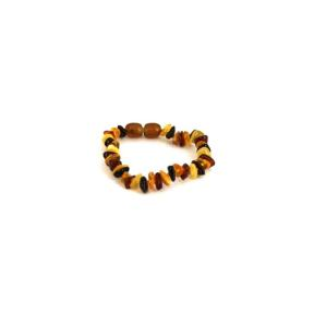 Amber Chip Mini Bracelet Multi-coloured