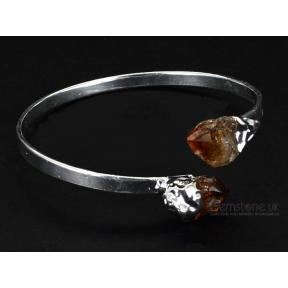 Citrine Tip Adjustable Bangle