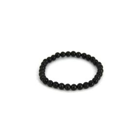 Shungite Small Bead Bracelet