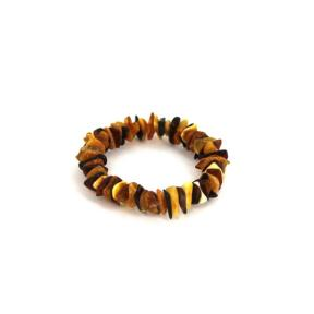 Amber Chip Bracelet Multi-coloured