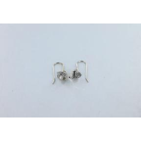 Herkimer Diamond Quartz Point Earrings