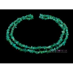 Apatite Stone Chip Necklace 36
