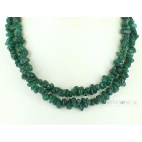 Aventurine Stone Chip Necklace 36