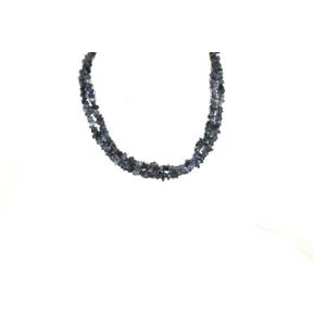 Iolite Stone Chip Necklace 36