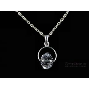 Herkimer Diamond Quartz Pendant