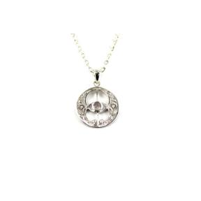 Moonstone, Rainbow .925 Chalice Well Pendant
