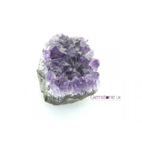 Amethyst Cluster Pendant Large