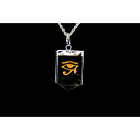 Quartz Eye Of Horus Tongue Pendant