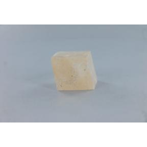 Pink Calcite Optical Cube