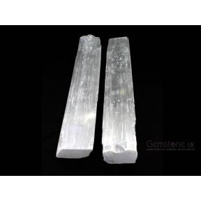 Selenite Rough Sticks - Large