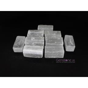Selenite Rough Sticks - Mini