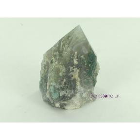 Moss Agate Rough Mini Polish Point